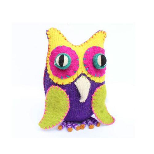 Handmade Decorative Wool Owl