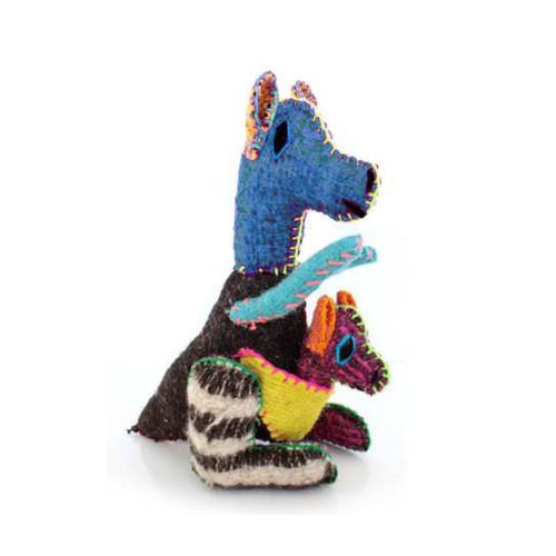 Handmade Decorative Wool Kangaroo