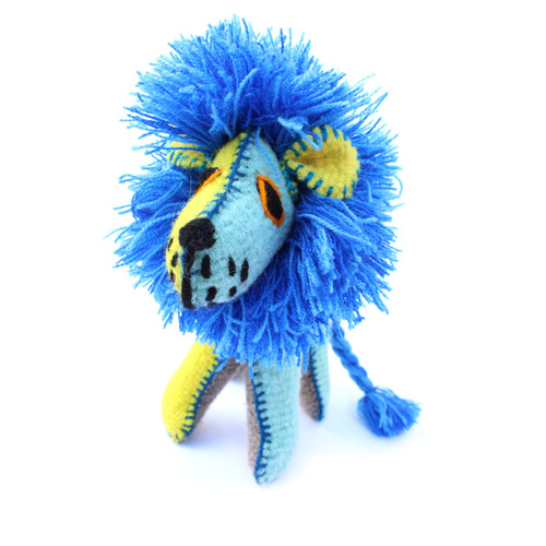 Handmade Decorative Wool Lion