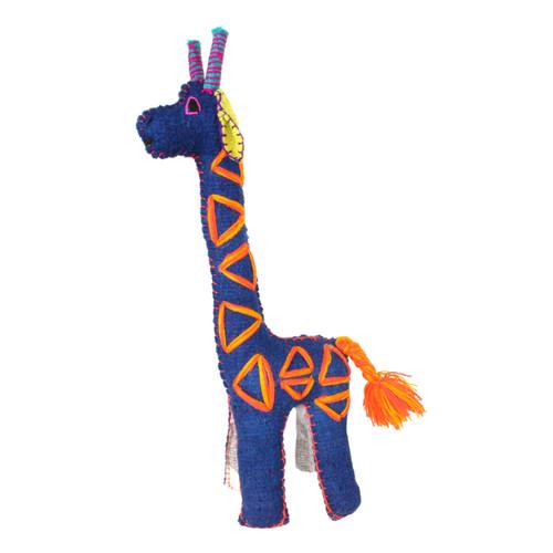 Handmade Decorative Wool Giraffe