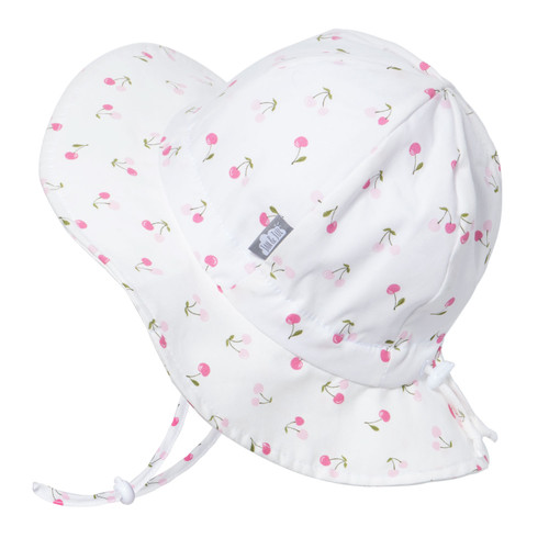 Cotton Gro-With-Me® Floppy Hat – 50+ UPF– Cherries