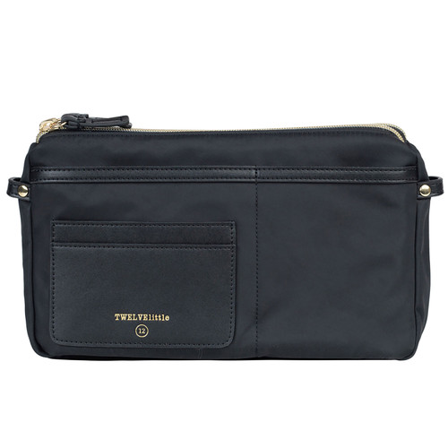 By-My-Side Crossbody Diaper Bag in Black