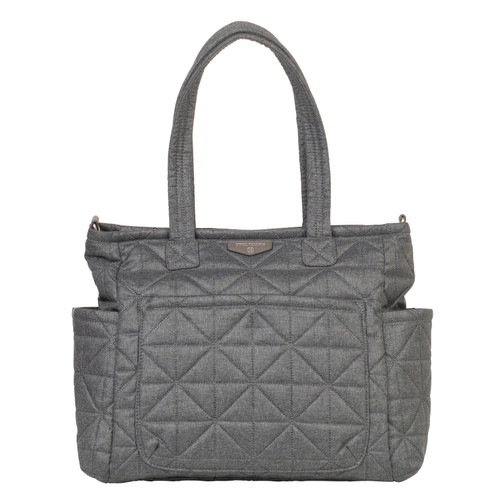 Carry Love Tote Diaper Bag in Denim 2.0