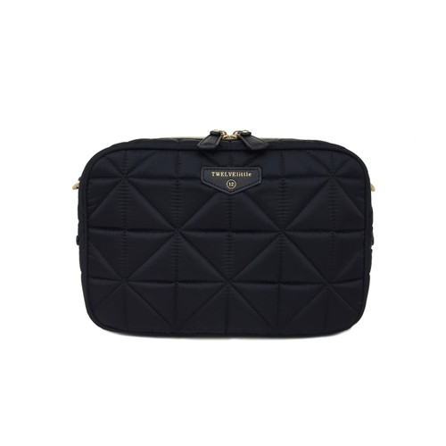 12LITTLE Diaper Clutch in Black 3.0