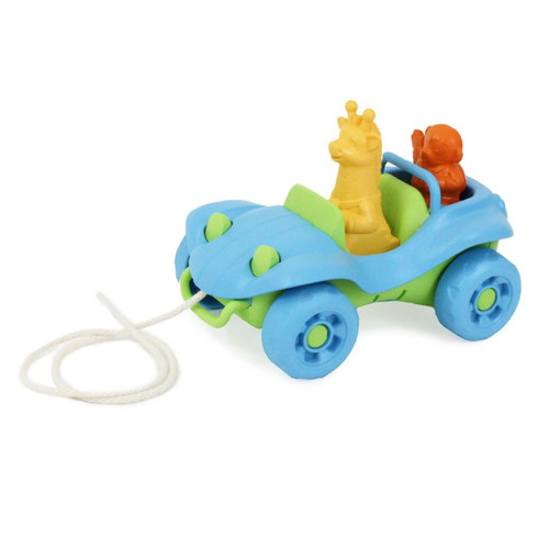 Recycled Plastic Dune Buggy Pull Toy