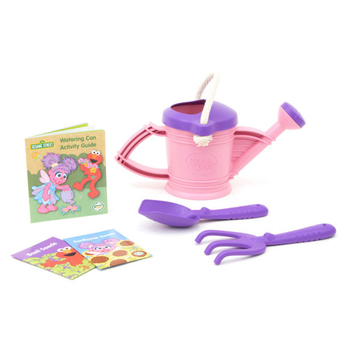 Recycled Plastic Abby Watering Can Outdoor Set
