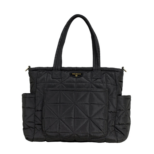 Carry Love Tote Diaper Bag in Black 2.0