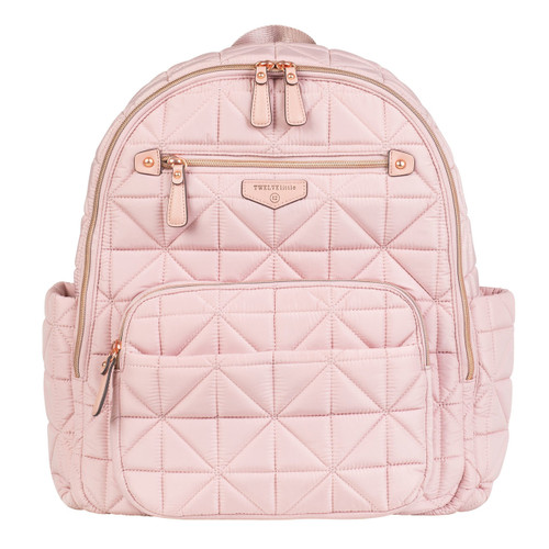 Companion Backpack Diaper Bag in Blush Pink 2.0