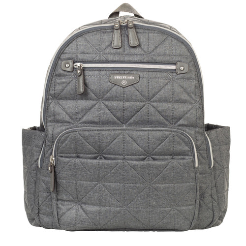 Companion Backpack Diaper Bag in Denim Nylon 2.0