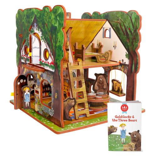 Goldilocks and the Three Bears Book and Play Set