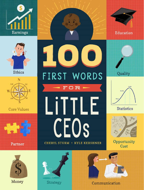 100 First Words for Little CEO's Book