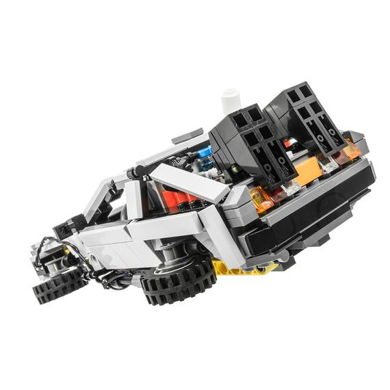 Back to the Future DeLorean DMC-12 Version 6 (2014)