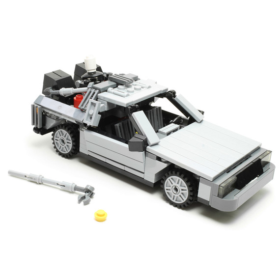 Back to the Future DeLorean DMC-12 Version 4 (2012)