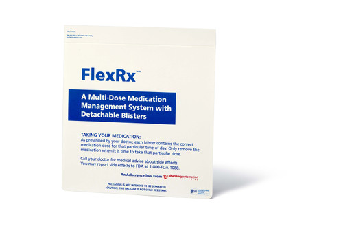 FlexRx Weekly (28 cavity) Cold-Seal Compliance Cover