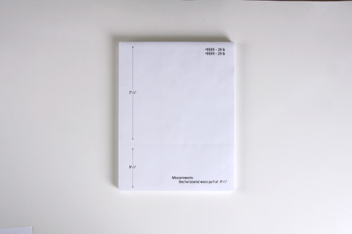 """Stock 8.5"""" x 11"""" Blank Laser Cut Sheet with Perforation, 20# bond"""