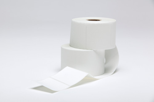 """Stock White Thermal Transfer Labels - 2"""" x 2"""""""