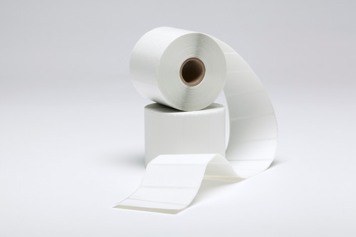 """Stock White Thermal Transfer Labels - 2.5"""" x 1"""""""