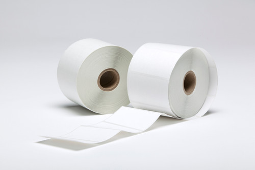 """Stock White Direct Thermal Labels - 2.5"""" x 1.5"""""""
