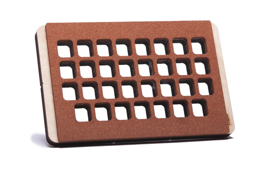 31 Cavity Plastic Fill/Seal Tray for QUBE31 Compliance Cards