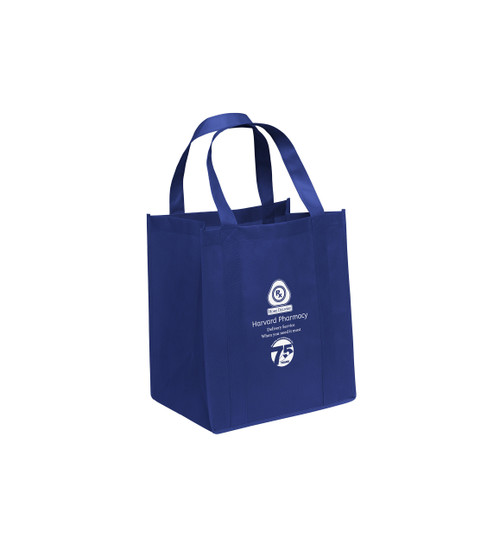 "Custom Printed 12"" x 8"" x 13"" Small Cloth Tote Style bag – 1 color & 1 side print"