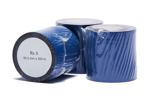"RX5 Wax/Resin Thermal Transfer Ribbon, 2.36"" x 984'"