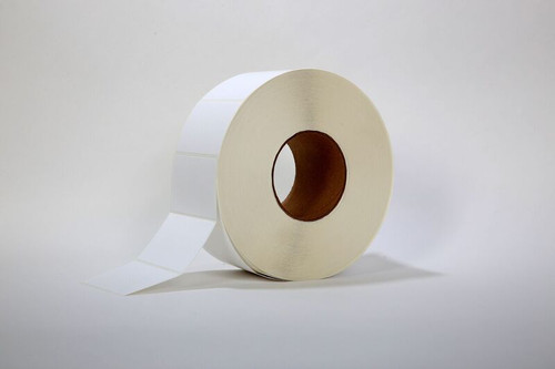"""Stock Thermal Transfer Unprinted Label 3"""" X 2"""""""
