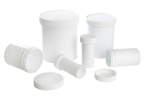 Premium White Plastic Ointment Jars