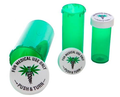 Green Screw-Loc MMC Vials from Centor