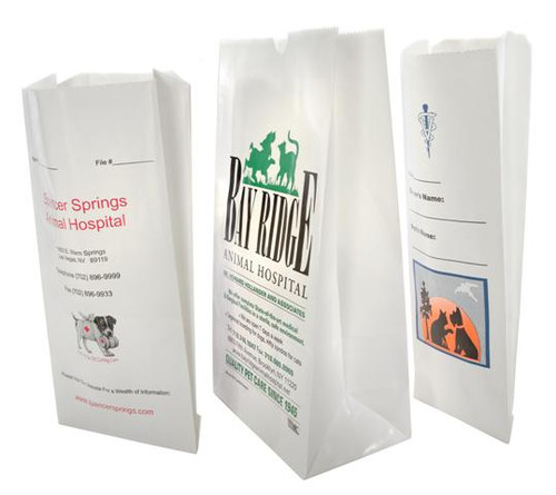 Custom Printed Paper Veterinary Bags