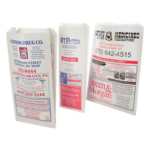 Custom Printed Paper Advertising Bags