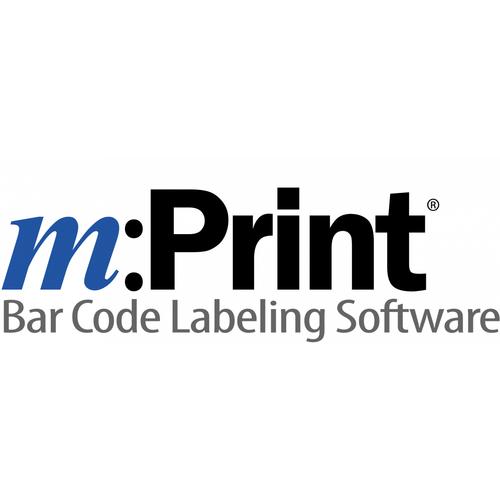 m:Print® Bar Code Labeling Software