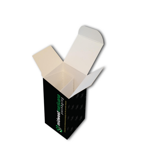 Custom Carton with divider for Oils/Vapes