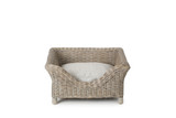 Raised Rattan Dog Beds