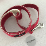 Dog Lead - Red Boat Canvas Lead_Wagwear_www.hugoandotto.com
