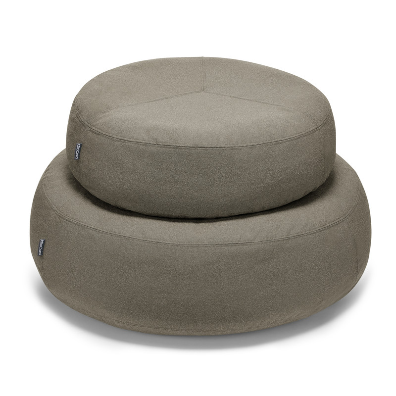 Dog Bed - Scala Dog Pouffe Tundra_Sleep_Stack SM & ML_www.hugoandotto.com