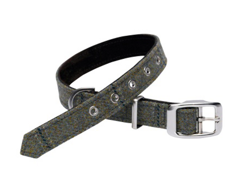 Dog Collar - Digby Tweed_Walk_www.hugoandotto.com
