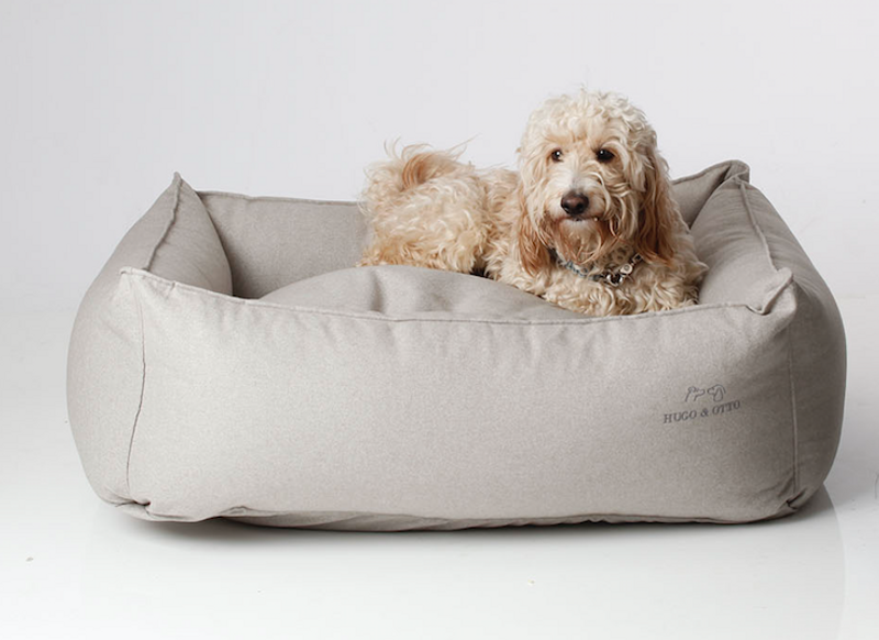 Hugo_&_Otto_Whitehall_Dog_Bed_Shale_Lifestyle_Alfie_hugoandotto.com