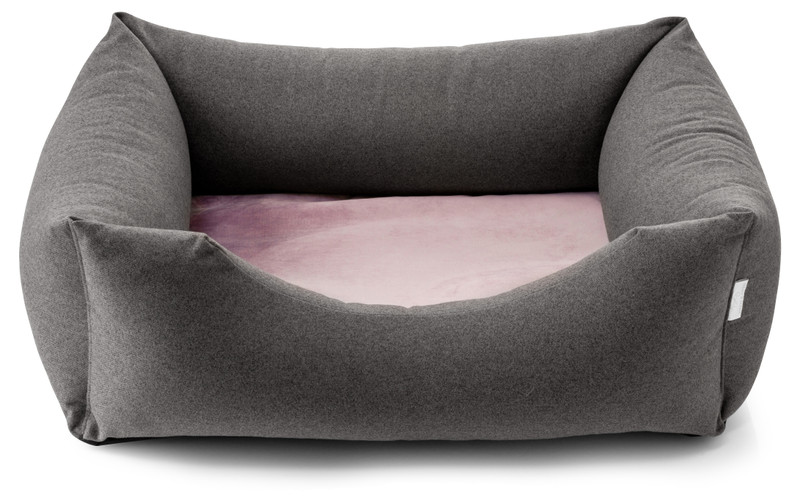 Chester Dog Bed - Anthracite_Lilac - Pop_Sugar_hugoandotto.com