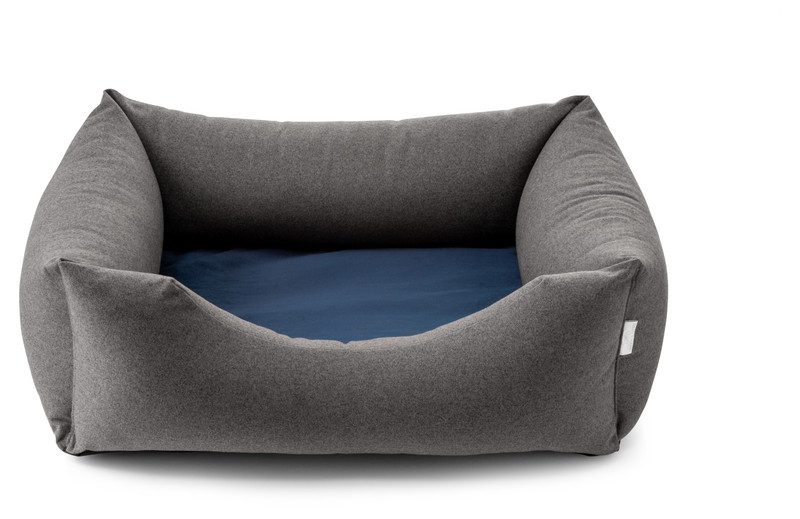 Chester Dog Bed - Anthracite_Royal - Bangers & Mash_hugoandotto.com