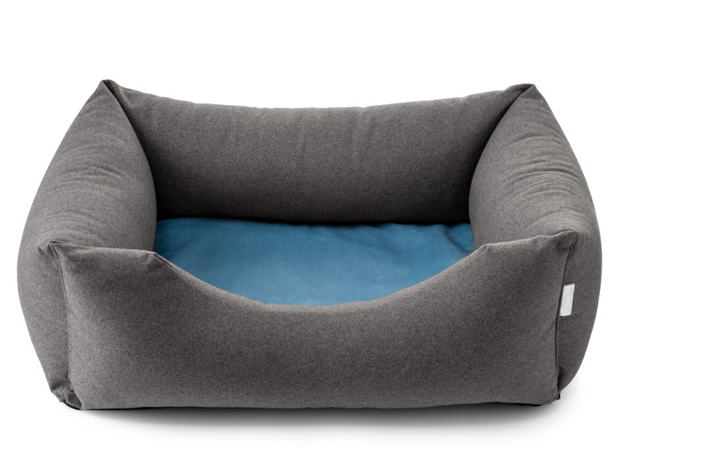 Chester Dog Bed - Anthracite_Atlantic - Puggy's_Dream_hugoandotto.com