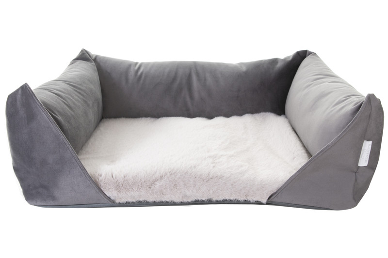 Only_available_in Storm_Grey_Faux_Fur_Hugo_and_Otto_Dream_Dog_Bed_Graphite_jpeg