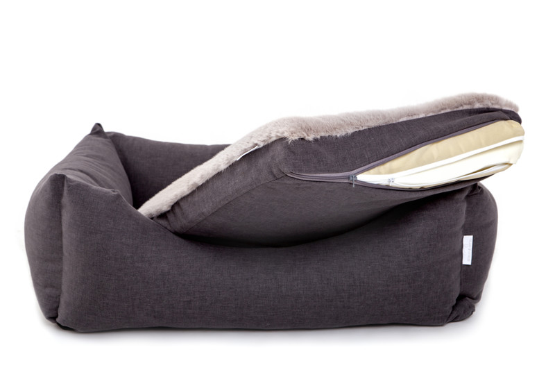 Hugo_and_Otto_Stretton_Dog_Bed_Graphite_with_memory_foam_Memory_foam_detail_jpeg