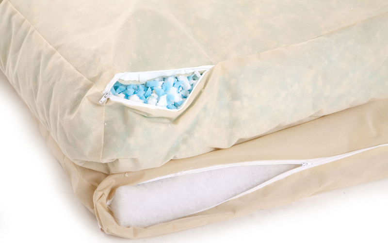 Lincoln_As_Nice_As_Pie_Cushion_Dog_Bed_Cerise_memory_foam_Detail_png