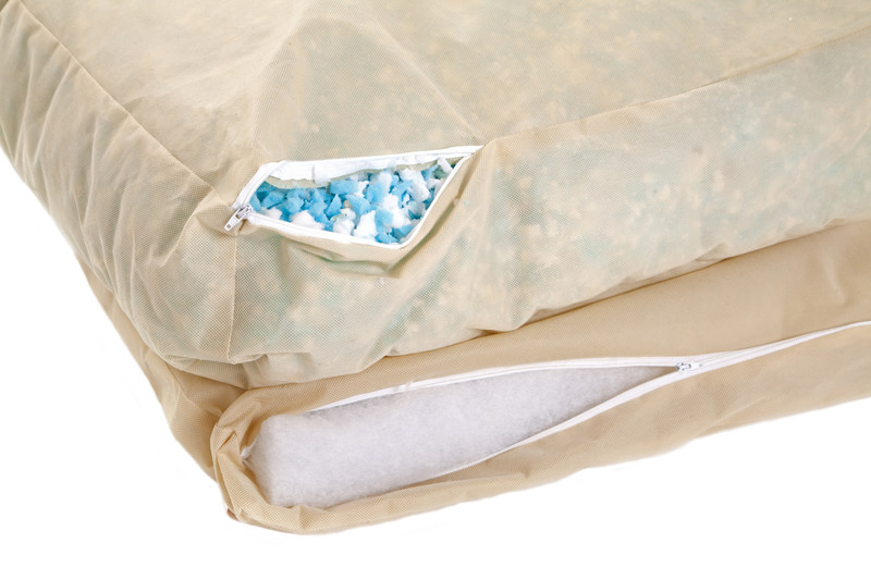 Lincoln_As_Nice_As_Pie_Cushion_Dog_Bed_2_Tier_Mattress_System_Detail_png