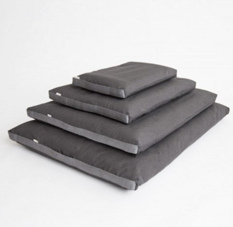Siesta Dog Bed - Graphite Grey Waterproof_Sleep_ Stack_www.hugoandotto.com