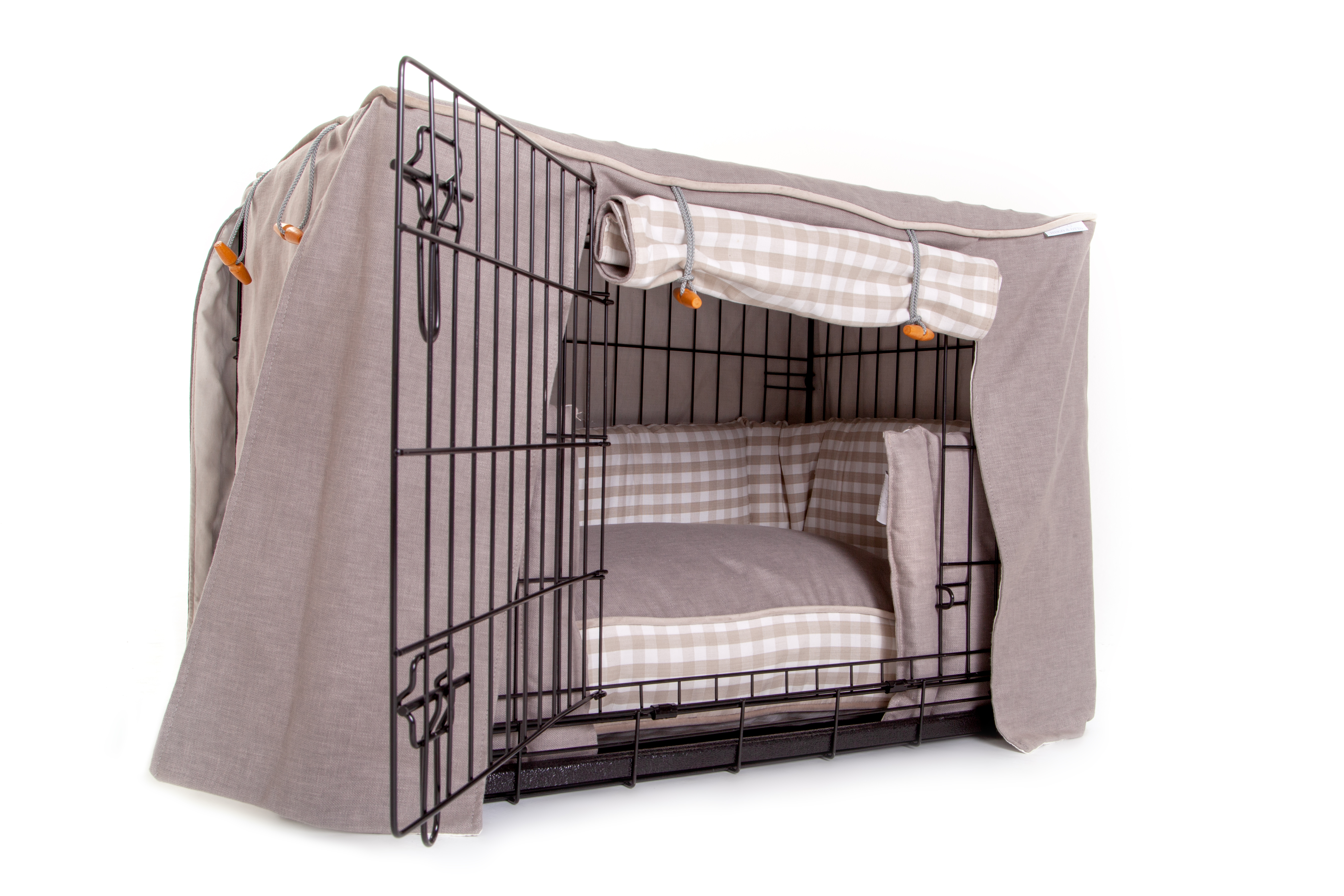 Little Tew Cosy Dog Crate Set, Dog Crate Set, Little Tew, Little Tew Dog Crate, Dog Crate, Dog Crate Bumper Set, Dog Crate Cushion, Dog Crate Sets, Dog Crate Cover,