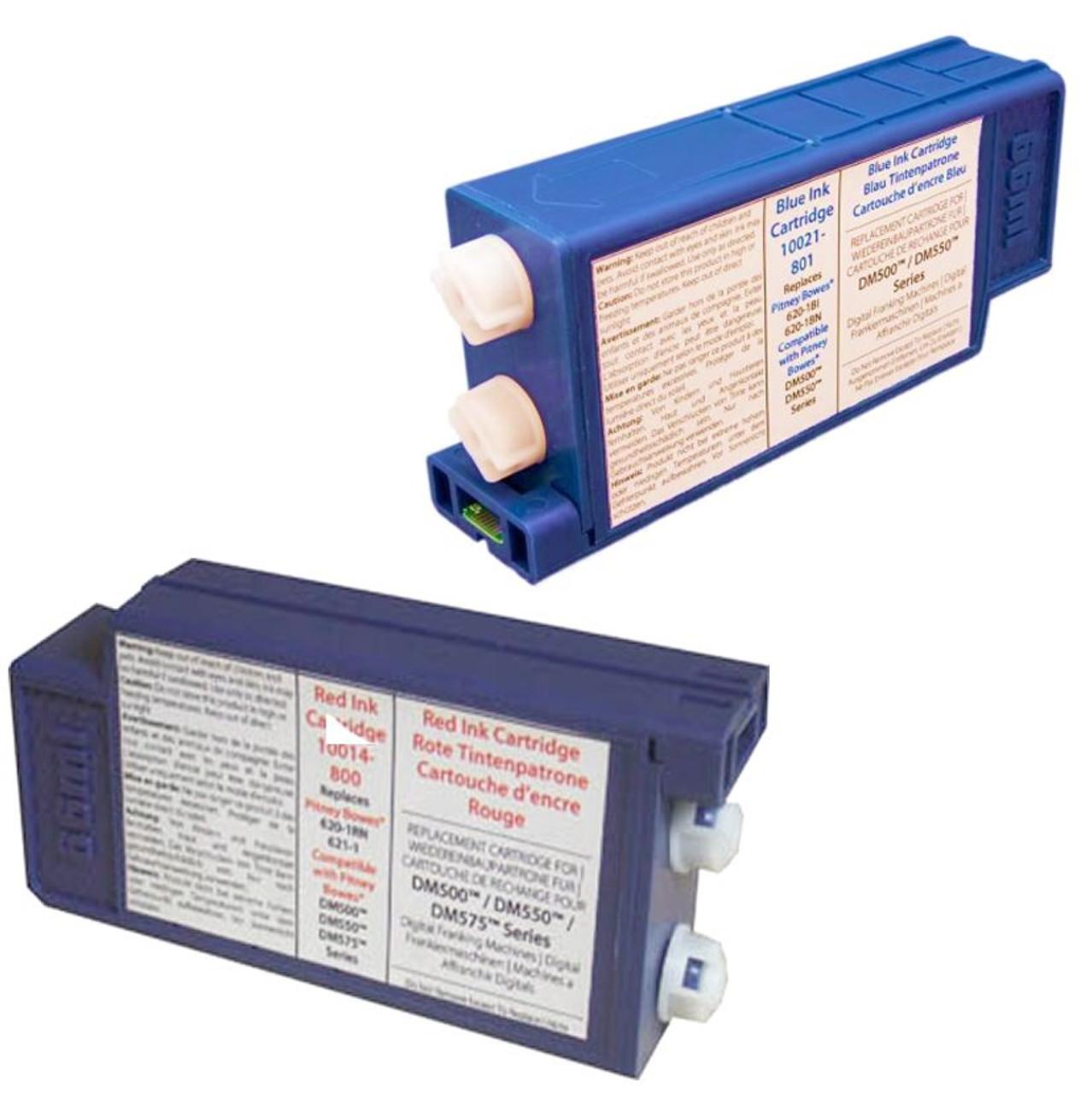 Compatible Pitney Bowes DM400, DM500, DM550 Franking Ink Cartridge