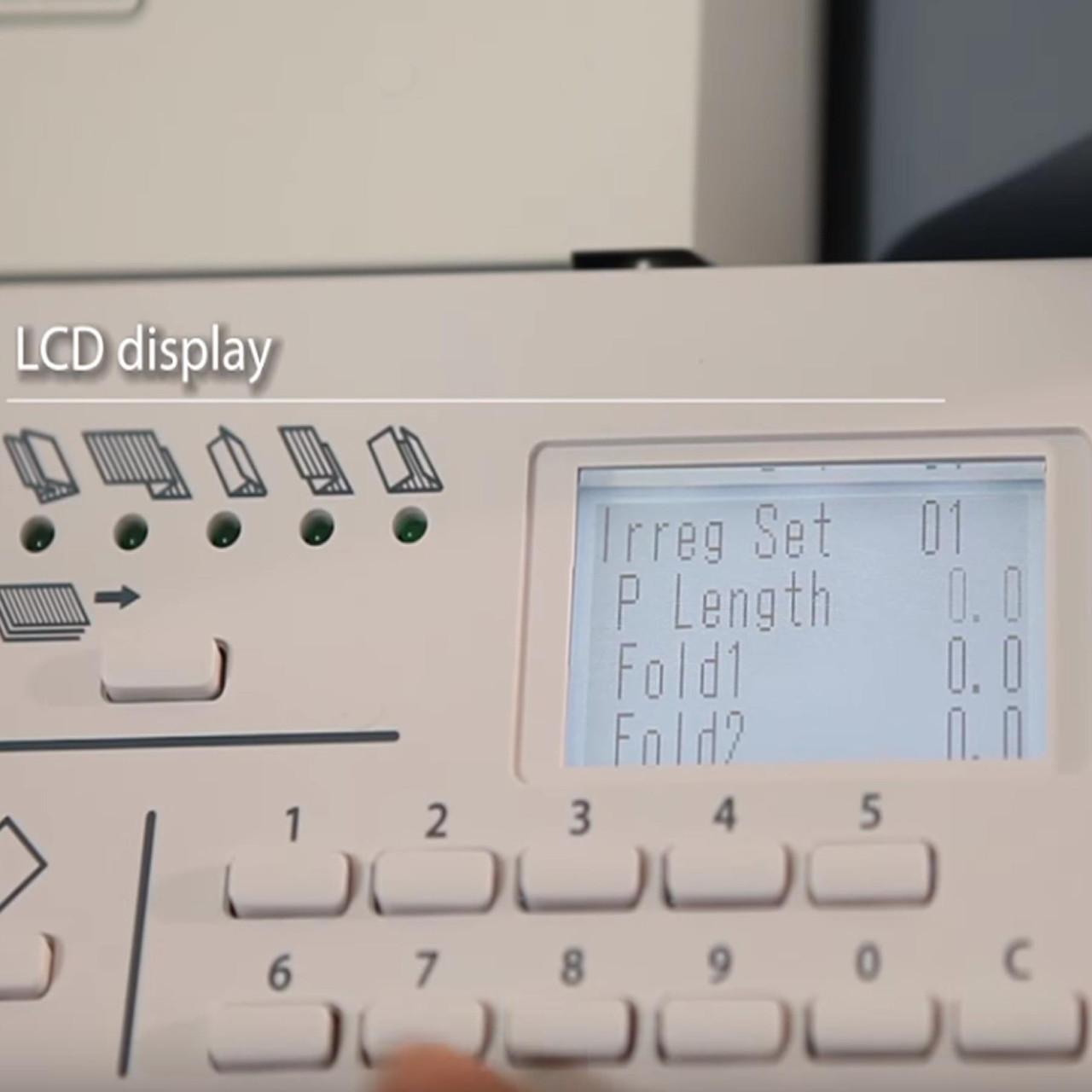 Duplo DF-980 - A3 A4 A5 Automatic Paper Folding Machine