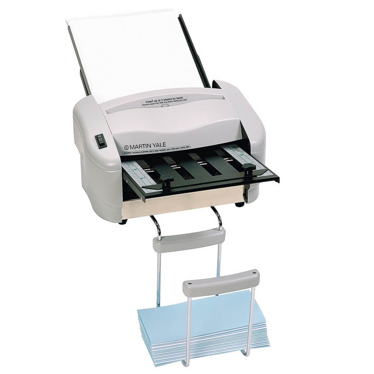 Martin Yale 7200 - A4 Paper Folding Machine with Catch Basket
