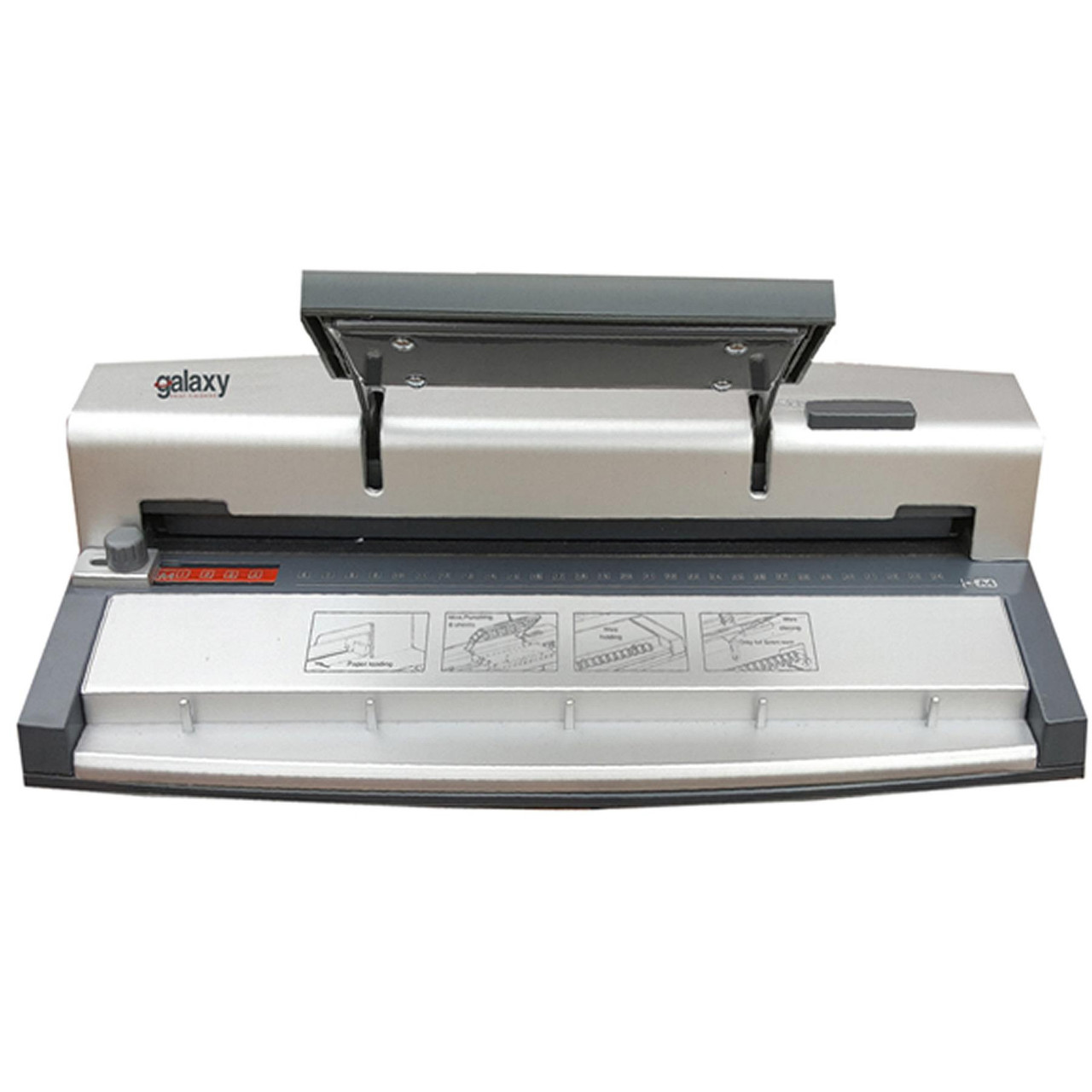 Galaxy G60 A4 Wire Binding Machine with 100 Wire Bindings